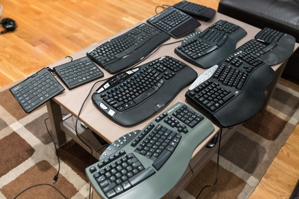 Ergonomic keyboard versus mechanical