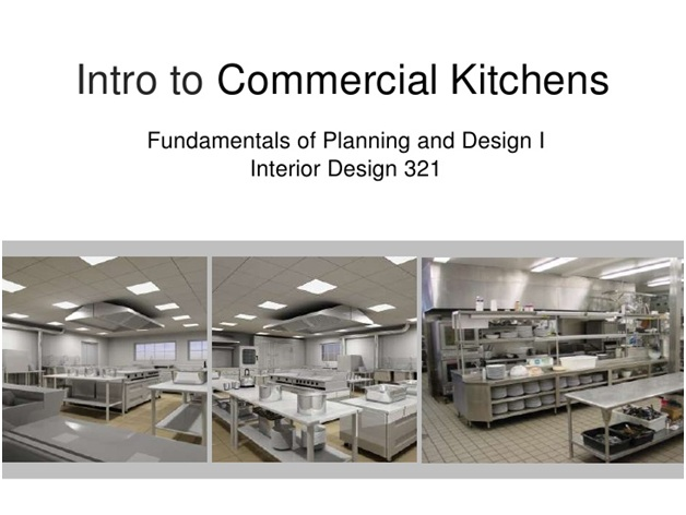 Design considerations for commercial kitchens